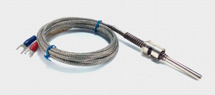 Thermocouple with Wire